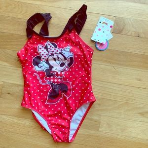Minnie Mouse bathing suit toddler 5T
